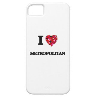 Amo a metropolitano funda para iPhone 5 barely there