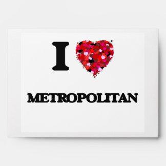 Amo a metropolitano sobres