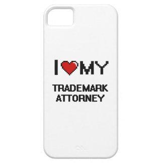 Amo a mi abogado de la marca registrada iPhone 5 Case-Mate protector