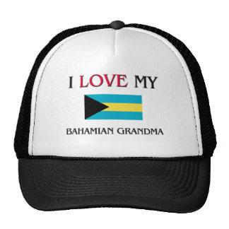 Amo a mi abuela bahamesa gorra