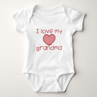 Amo a mi abuela body para bebé