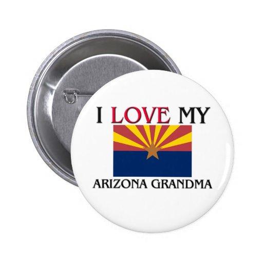 Amo a mi abuela de Arizona Pins