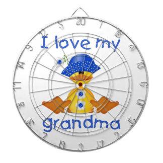 Amo a mi abuela (el chica ducky) tablero dardos