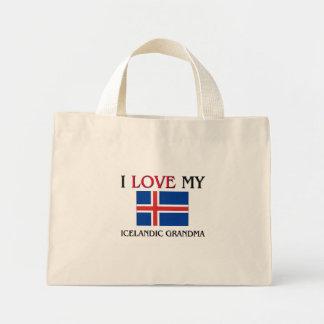 Amo a mi abuela islandesa bolsa