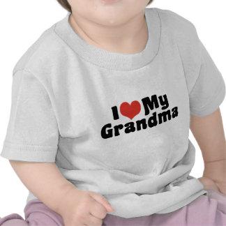 Amo a mi abuela camiseta