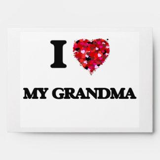 Amo a mi abuela sobres