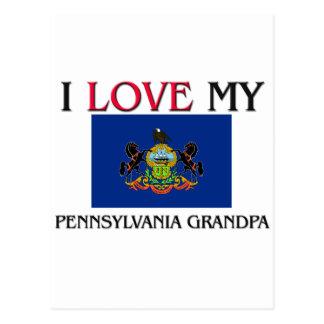 Amo a mi abuelo de Pennsylvania Postal