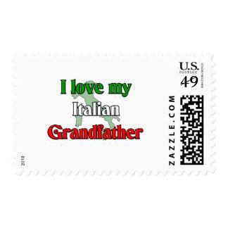 Amo a mi abuelo italiano sellos