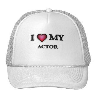 Amo a mi actor gorra
