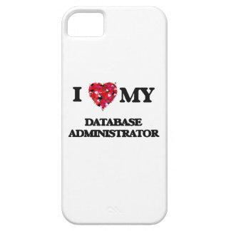 Amo a mi administrador de base de datos iPhone 5 Case-Mate fundas