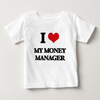 Amo a mi administrador de dinero playera