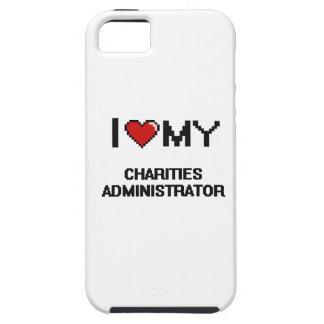 Amo a mi administrador de las caridades iPhone 5 Case-Mate carcasa
