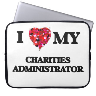 Amo a mi administrador de las caridades fundas computadoras
