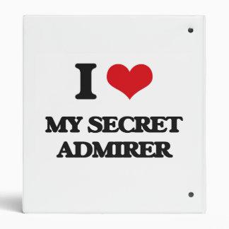 Amo a mi admirador secreto carpeta 2,5 cm