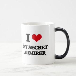 Amo a mi admirador secreto taza mágica