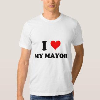 Amo a mi alcalde playera
