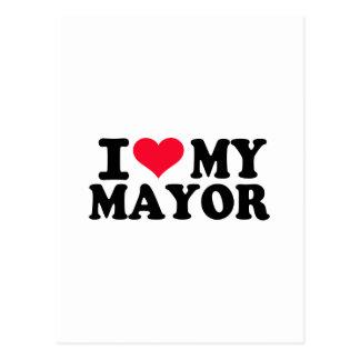Amo a mi alcalde postales