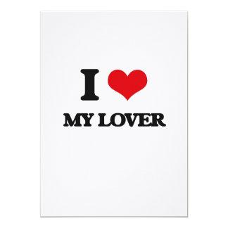 """Amo a mi amante invitación 5"""" x 7"""""""
