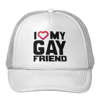 AMO A MI AMIGO GAY - .PNG GORROS