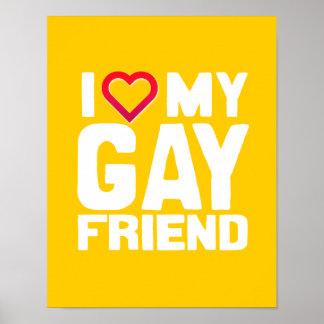 AMO A MI AMIGO GAY - - .PNG POSTERS