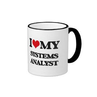 Amo a mi analista de sistemas tazas