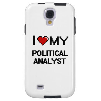 Amo a mi analista político funda para galaxy s4