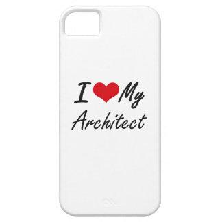 Amo a mi arquitecto iPhone 5 carcasa