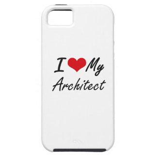 Amo a mi arquitecto iPhone 5 fundas