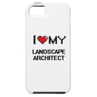 Amo a mi arquitecto paisajista iPhone 5 carcasa
