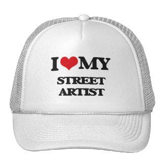 Amo a mi artista de la calle gorras de camionero