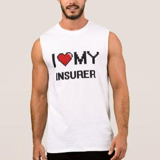 Amo a mi asegurador camisetas sin mangas