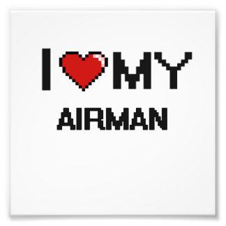 Amo a mi aviador arte con fotos