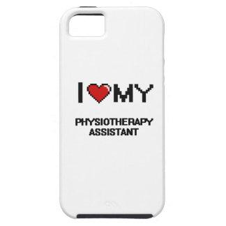 Amo a mi ayudante de la fisioterapia iPhone 5 carcasa