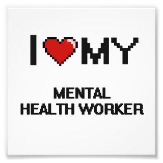 Amo a mi ayudante de sanidad mental fotografía