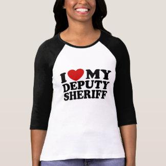 Amo a mi ayudante del sheriff remeras