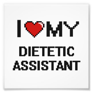 Amo a mi ayudante dietético fotos