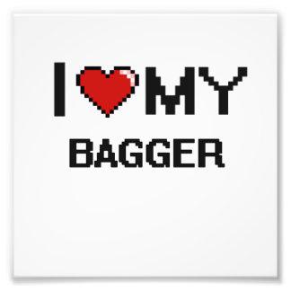 Amo a mi Bagger Foto