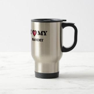 Amo a mi bandido taza térmica