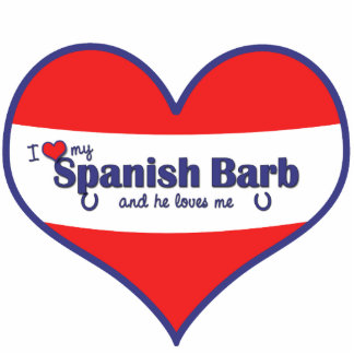 Amo a mi Barb español el caballo masculino Esculturas Fotográficas