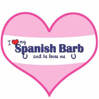 Amo a mi Barb español el caballo masculino Escultura Fotografica