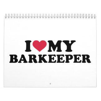 Amo a mi Barkeeper Calendario
