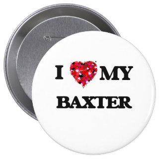 Amo a MI Baxter Pin Redondo 10 Cm