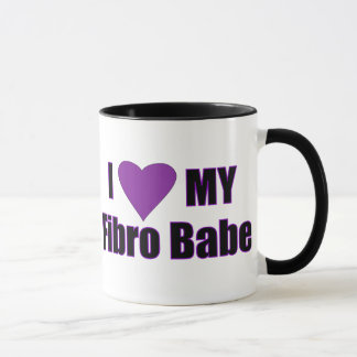 Amo a mi bebé fibro taza
