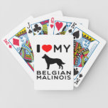 Amo a mi belga Malinois. Baraja Cartas De Poker