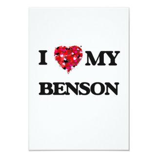 """Amo a MI Benson Invitación 3.5"""" X 5"""""""