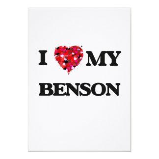 """Amo a MI Benson Invitación 5"""" X 7"""""""