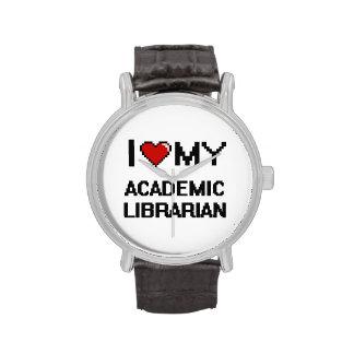 Amo a mi bibliotecario académico