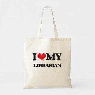 Amo a mi bibliotecario bolsa
