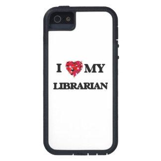 Amo a mi bibliotecario iPhone 5 carcasas