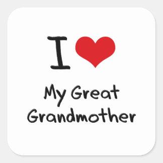 Amo a mi bisabuela colcomania cuadrada